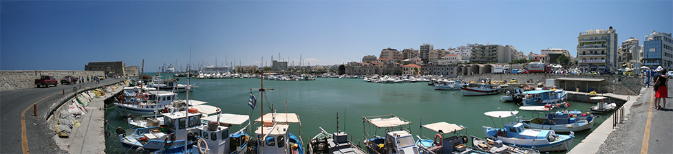 Heraklion panorama